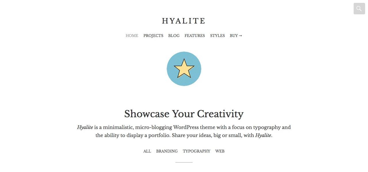 Hyalite: Homepage